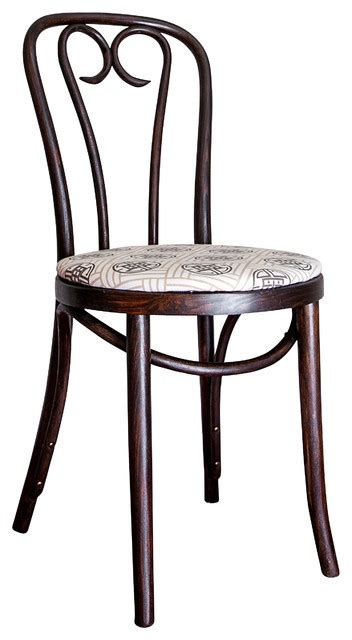 vintage early 1900s bentwood candycane style cafe chair