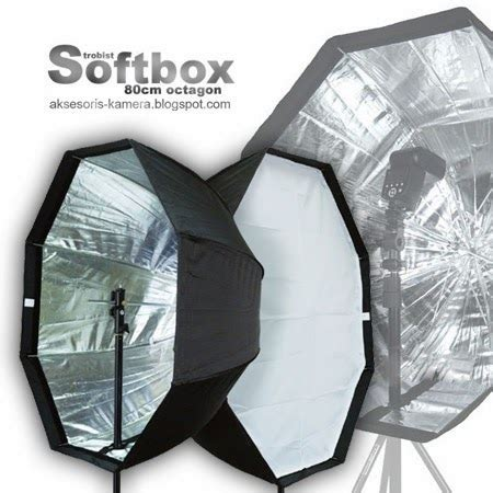 Softbox Jogja pusatnya aksesoris kamera octagon softbox