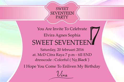template undangan siraman 4 contoh undangan ulang tahun dalam bahasa inggris