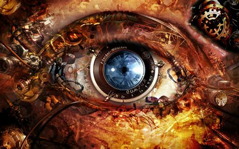 abstract eye wallpaper steunk photos hd artwork abstract wallpapers
