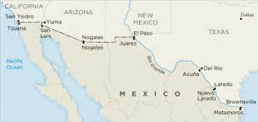 map of california mexico border border poll finds u s mexico border residents