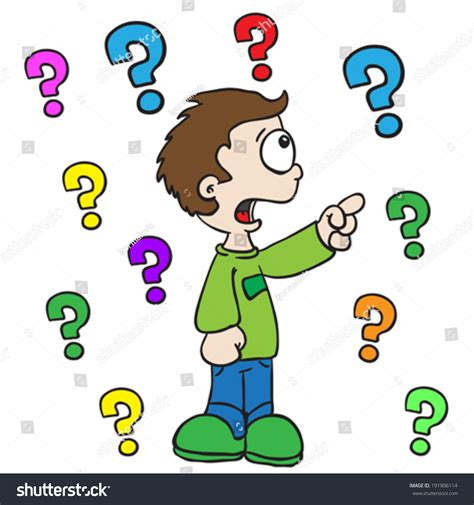 Or Question For A Boy Child Asking Question Clipart Clipartxtras