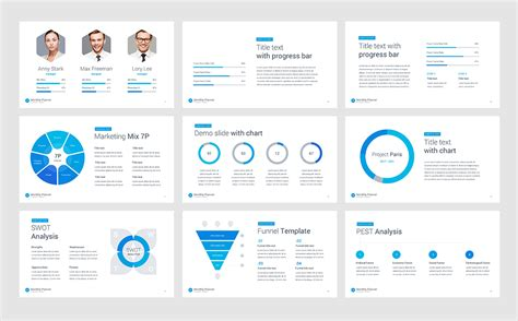 design view powerpoint monthly planner keynote template 66055