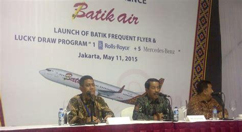 batik air frequent flyer strategi batik air tingkatkan jumlah penumpang okezone
