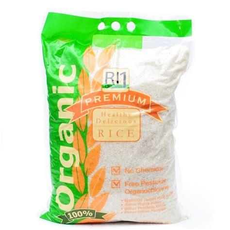 Kantong Plastik 1 4 Kg beras putih organik ri 1 5 kg elevenia