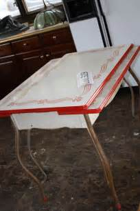 Vintage Enamel Kitchen Table Kitchen Chairs Vintage Kitchen Tables And Chairs