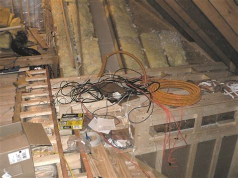 running low voltage wire attic home theater home theater forum and systems