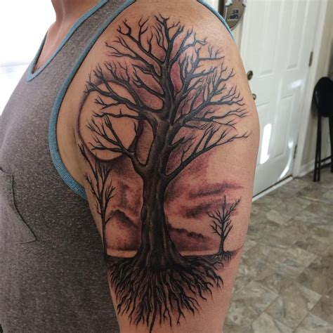 tree half sleeve tattoo designs image result for tree sleeve tree trat