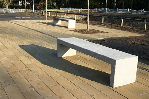 concrete benches uk concrete bloc bench factory furniture