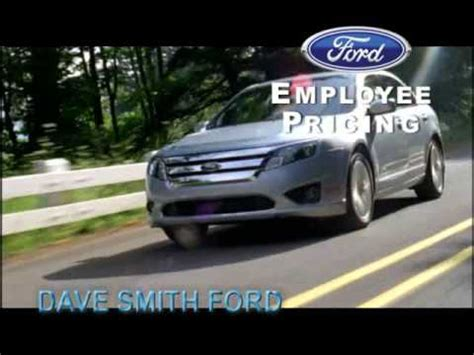 Dave Smith Ford by Dave Smith Ford Employee Pricing Sale Wmv