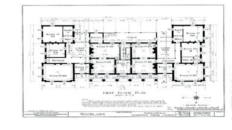 plantation house floor plans