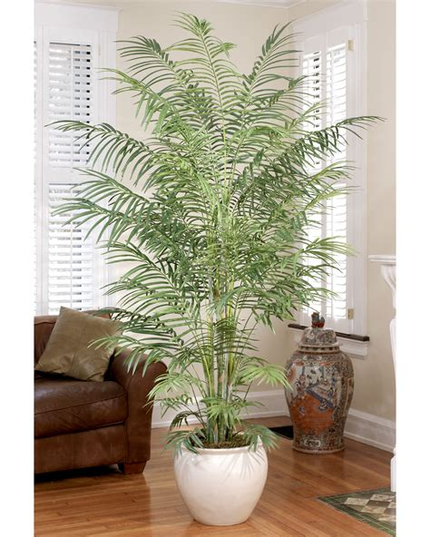artificial plant decoration home decorate with 6 5 butterfly silk palm tree at