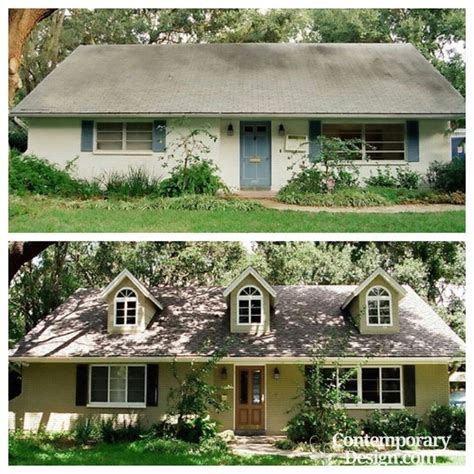 curb appeal before and after - Home Curb Appeal Before And After