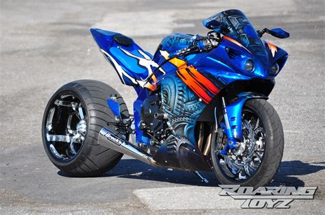 single sided swing arm yamaha r1 custom