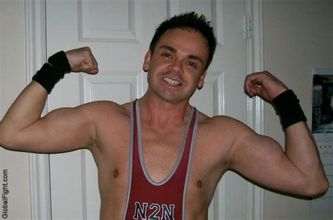 College Guys Shower by Room Boys Flexing In Singlets College Guys Jpg Photo