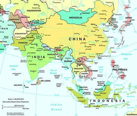 asia s map of asia asia political map asia geography map