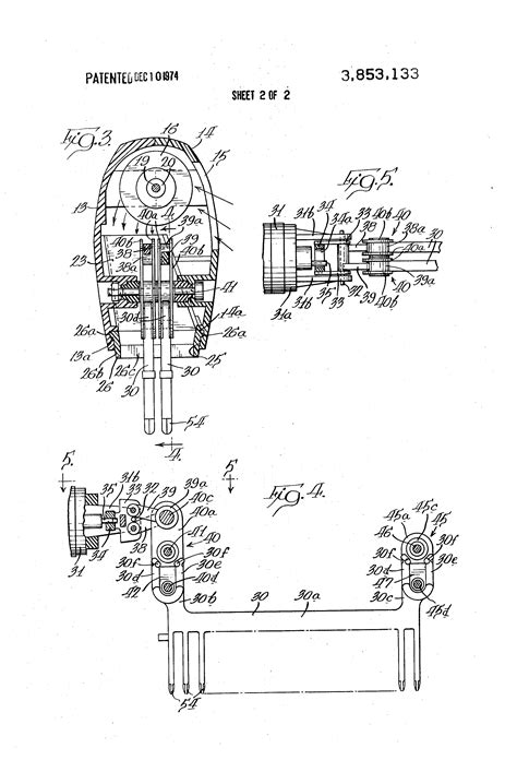 Dyson Hair Dryer Patent patent us3853133 combined hair dryer and detangler