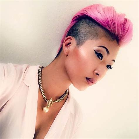 woman both sides shaved 23 most badass shaved hairstyles for women shaved sides