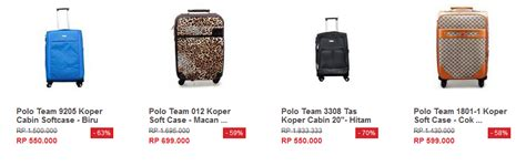 Harga Koper Kecil Merk Polo daftar harga koper polo kecil kita punya