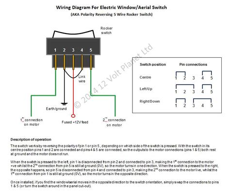 5 pin power window switch wiring diagram wiring diagram