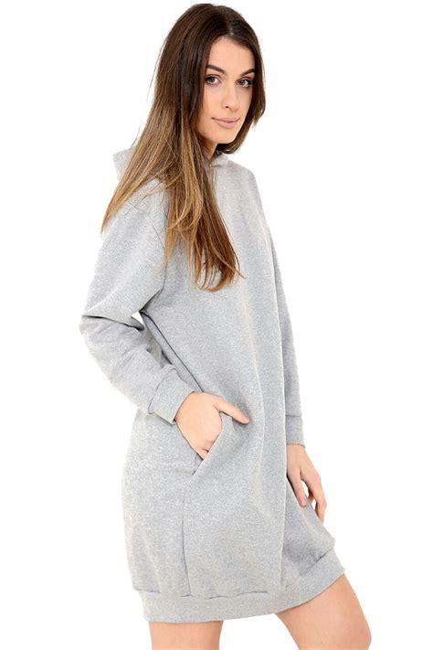 3 4 Sleeve Oversized Sweatshirt oversized baggy hooded sleeves