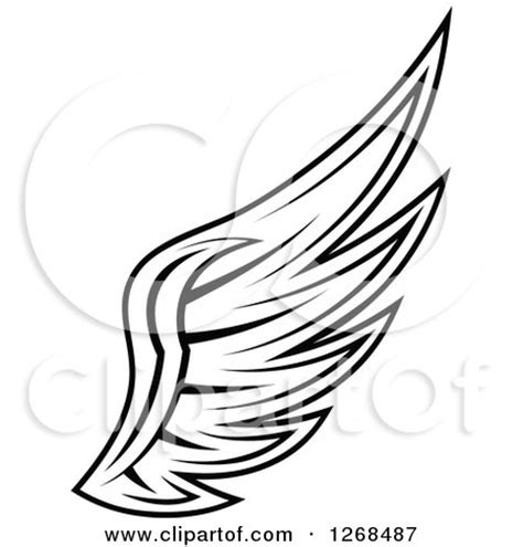 royalty free rf clipart of angel wings illustrations