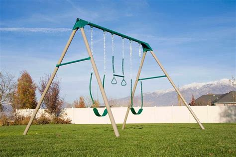 Metal Swing Sets - best swing sets for the backyard site