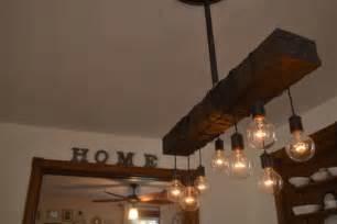 Wood Lighting Fixtures Chandelier Lighting Wood Light Hanging By Unionhilironworks