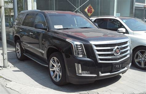 cadillac and chevrolet cadillac escalade