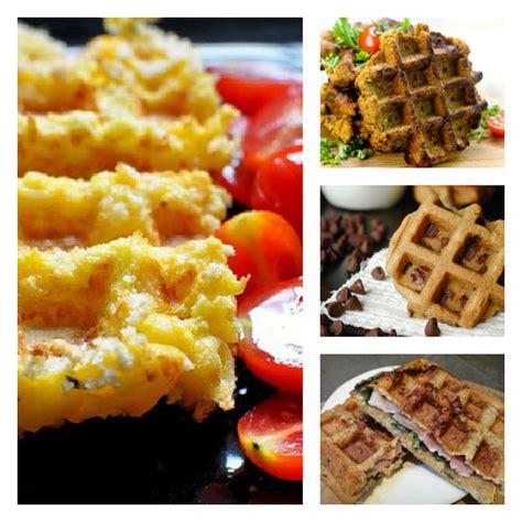 15 things you can make do using your waffle iron that