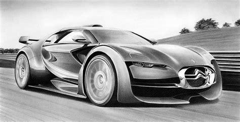 Citroen Survolt For Sale by Citroen Survolt Drawing By Lyle Brown