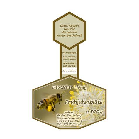 Honig Etiketten Gestalten Und Drucken by Honigglas Etiketten Vermarktung Imkerforum Seit 1999