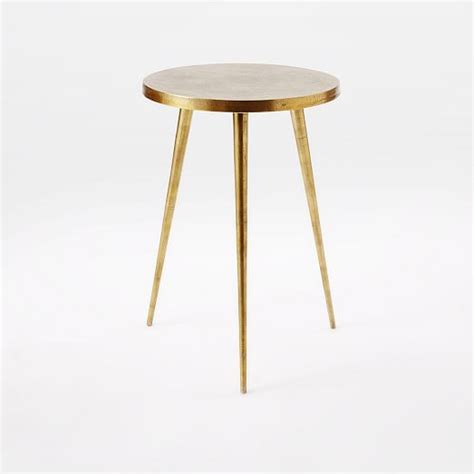 Tripod Side Table Cast Tripod Side Table West Elm
