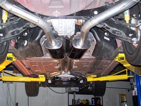 srt8 challenger exhaust challenger dual 3 quot custom exhaust dodge challenger forum