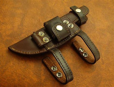 horizontal leather knife sheath 417 best knife and ax sheaths images on