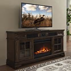tv stands with fireplace turnkey llc chelsea 66 quot tv console with surround sound and