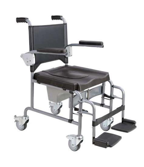 silla de ruedas  inodoro andalus plegable