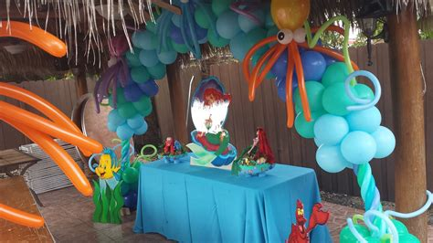 Ariel Decorations by Rental Mermaid Ariel Decoration