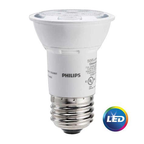 philips 50w equivalent bright white par16 led light bulb 464981 the home depot
