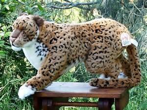 Jaguar Plush Stuffed Prowling Jaguar From Stuffed Ark