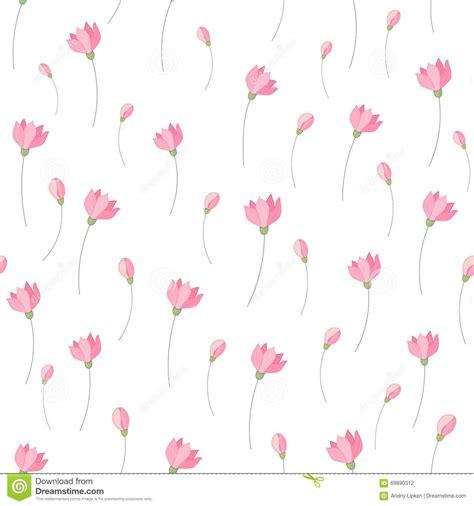 cute little pattern cute little pink flowers seamless pattern background