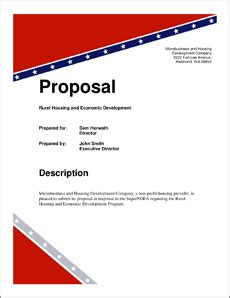 Doh Federal Government Grant Proposal 5 Steps Federal Government Rfp Template