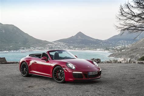 red porsche convertible 2017 porsche 911 carrera 4 gts review gtspirit