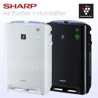 Sharp Air Purifier Mini qoo10 sharp plasmacluster air purifiers with humidifying