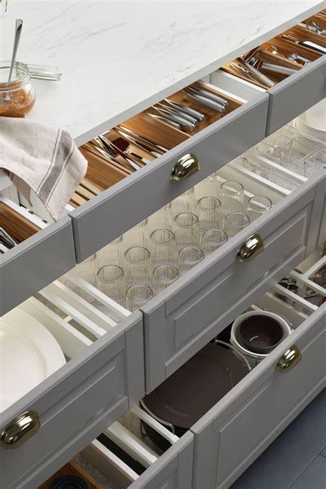 goodbye junk drawers  organization ikea sektion interior organizers turn chaotic drawers