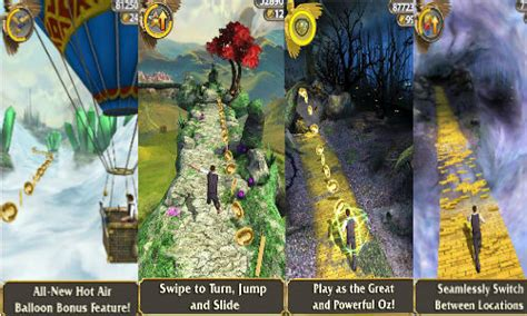 temple run oz for android temple run oz now available for ios and android devices at rs 55 and rs 53 18 gizbot news