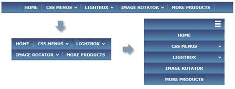 responsive layout menu to drop down ajatix advanced css drop down menu dreamweaver extension