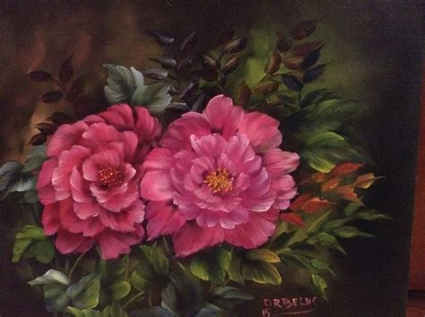 bob ross painting roses don belik bob ross 174 painting classes gallery florals