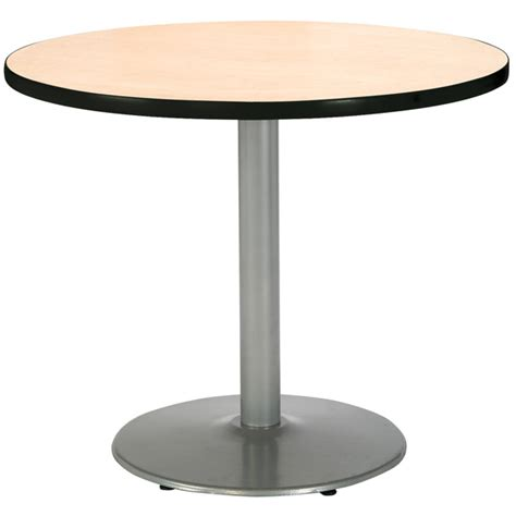 Cafe Table by Kfi Cafe Tables W Silver Base