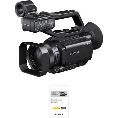best professional camcorder sony pxw x70 professional xdcam compact camcorder pxw x70 b h